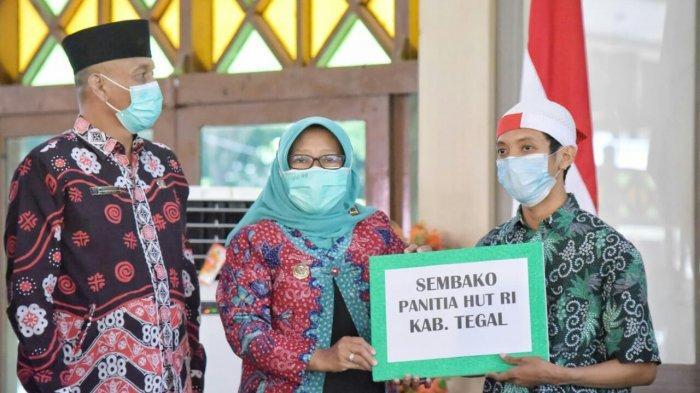 Resepsi HUT Kemerdekaan Republik Indonesia 2021, Bupati Tegal Umi: Fokus Kembangkan Diri