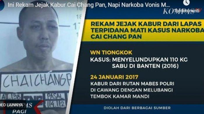 Dua Kali Kabur dari Penjara, Cai Changpang Terpidana Mati Narkotika Asal China Ditemukan Tewas