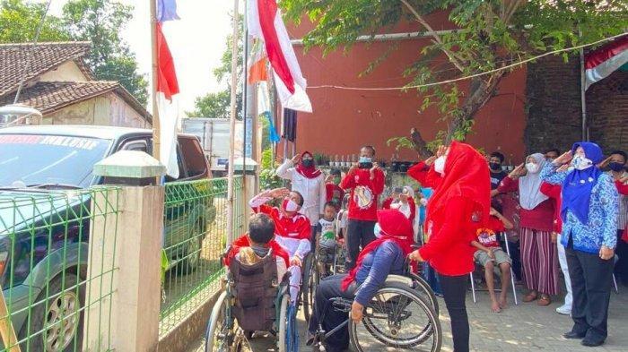 Antusiasme Difabel LBK Slawi Gelar Upacara Bendera, Patiawati: Ini Baru Kali Pertama