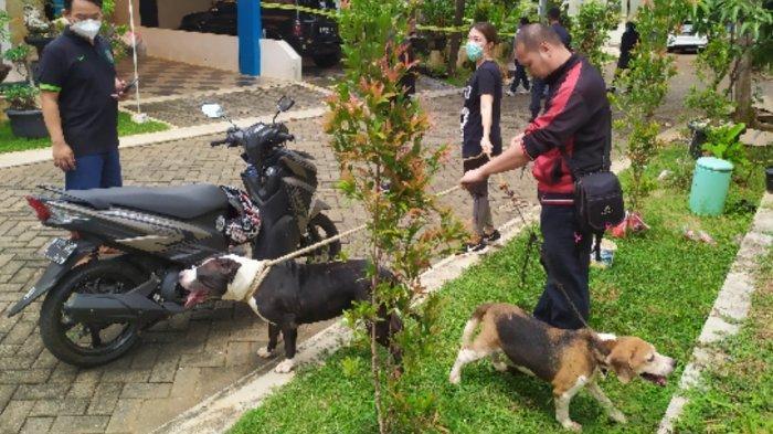 Lokasi Penemuan Orang Meninggal Dunia Dijaga Pit bull Warga Panggil Tim K-9 Polrestabes Semarang