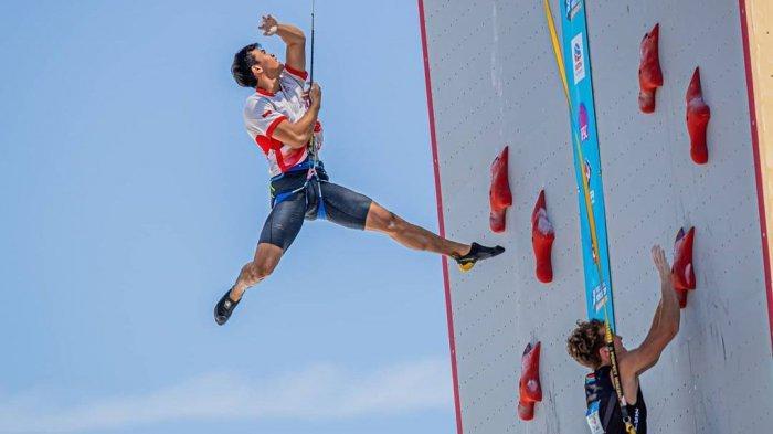 Sosok Kiki, Pemuda Batang Pecahkan Rekor Dunia Panjat Tebing, Sejak Kecil Bantu Ibu Jualan Keliling
