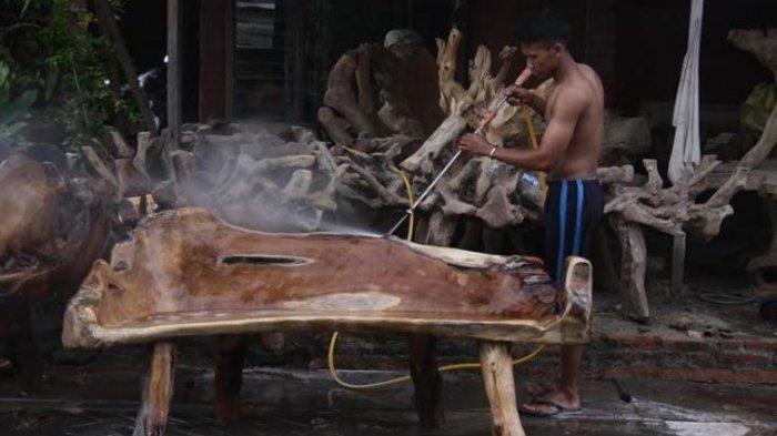 Usaha Furnitur di Jepara Terancam Mati Suri, Kontainer untuk Ekspor Langka, Produksi Disetop