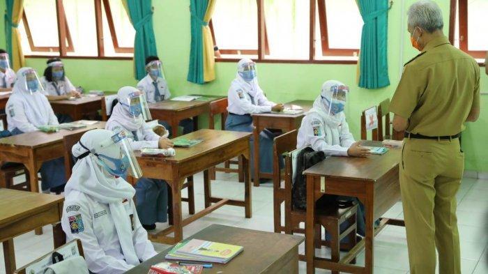 Dedy Yon Paparkan Sistem Ganjil-Genap Simulasi PTM Sekolah di Tegal, Mulai 1 September 2021