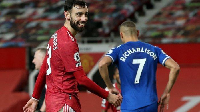 Man United vs Everton: Surplus 2 Gol Lenyap Kemenangan Sirna, Setan Merah Ulangi Kesalahan 11 Silam