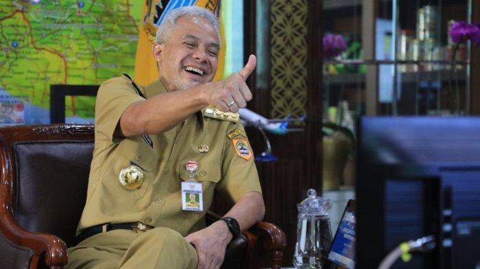 Elektabilitas Ganjar Melejit, Puncaki Hasil Survei Charta Politika, Ungguli Anies dan Prabowo