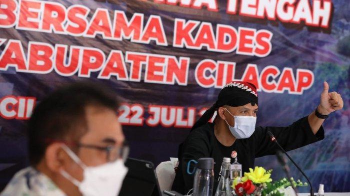 Curhat Kepala Desa di Cilacap ke Gubernur Ganjar, Sulit Ajak Warga Taati Prokes
