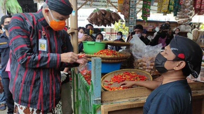 Gubernur Ganjar Siapkan Rp 10 Miliar untuk Perbaikan Pasar Wage Purwokerto
