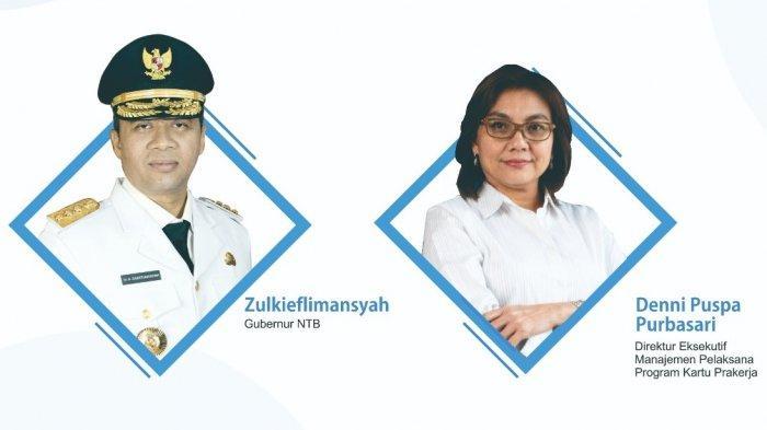 Gubernur Zulkielflimansyah Siap Sukseskan Kartu Prakerja di NTB: untuk Kesejahteraan Masyarakat