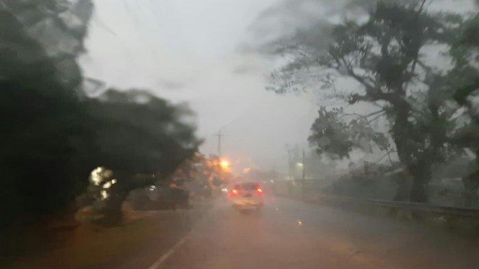 Berikut Prakiraan Cuaca BMKG Kabupaten Batang Jumat 25 Juni 2021, Malam Hari Diguyur Hujan Ringan