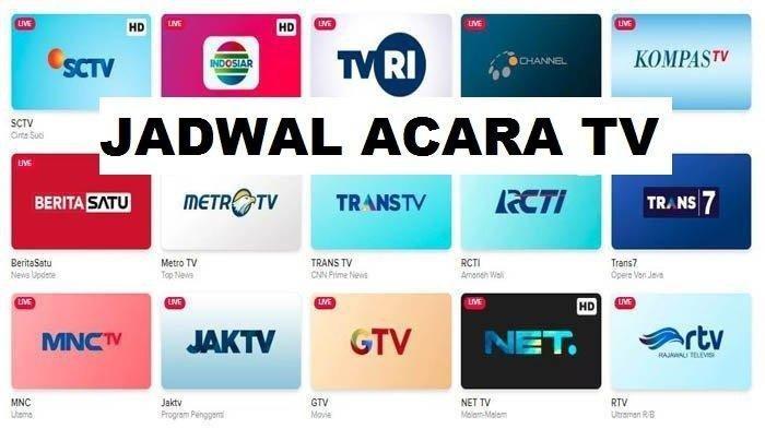 Jadwal Acara TV Hari Ini Jumat 28 Agustus 2020: Trans TV, Trans 7, SCTV, RCTI, Net TV, dan GTV