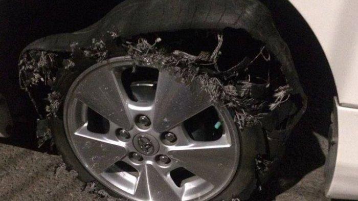 Tips Mengendalikan Mobil Jika Ban Pecah di Jalan, Jangan Langsung Injak Rem!