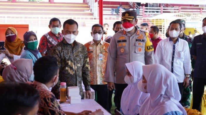 4.200 Orang Dapat Vaksinasi Merdeka Candi di Kabupaten Batang