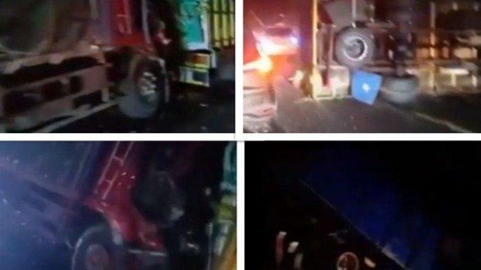 Dua Sopir Meninggal di TKP, Kecelakaan Beruntun Libatkan 6 Truk di Madura, Begini Kronologinya