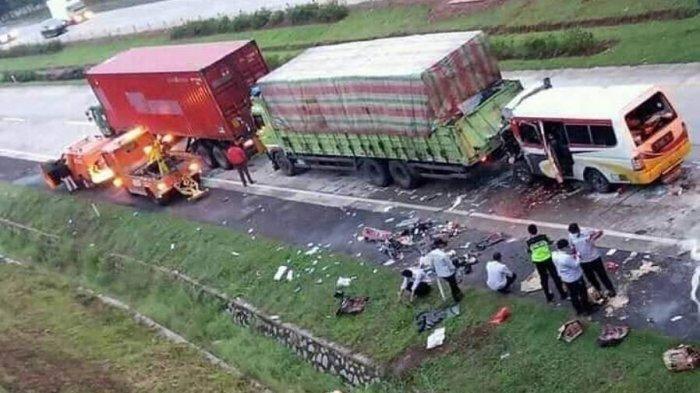 Bahaya Laten Berkendara di Belakang Truk Besar, Berkaca pada Kecelakaan Maut Tol Cipali