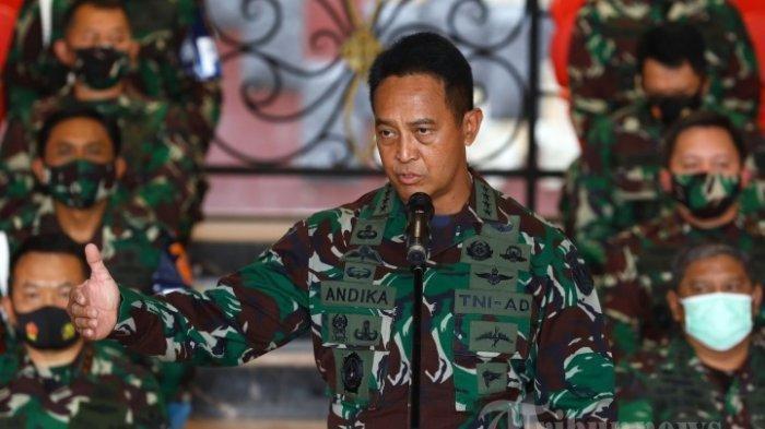 TNI AD Hapus Tes Keperawan Calon Prajurit Kowad, KSAD Andika Perkasa: Tak Diperlukan Lagi