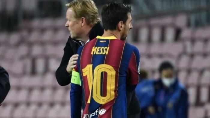 Granada vs Barcelona: Barca Menang Telak, Koeman Malah Lakukan Hal yang Dibenci Messi