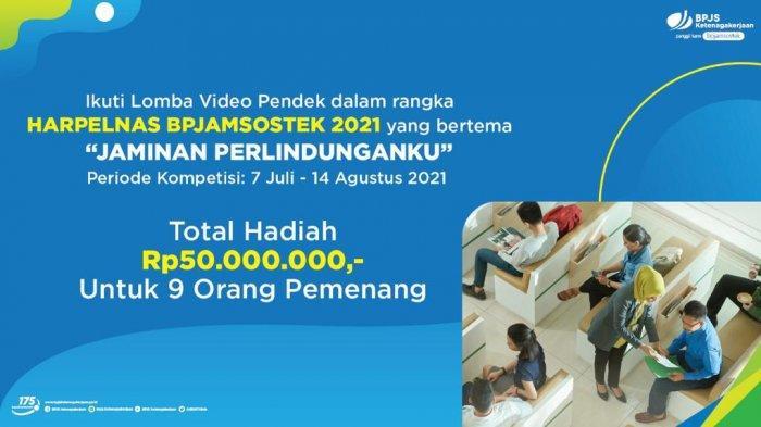 BPJamsostek Siapkan Hadiah Puluhan Juta Rupiah dalam Lomba Video Pendek, Ini Syaratnya