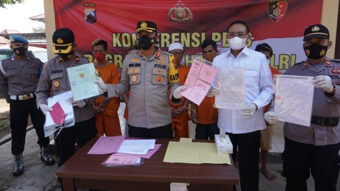 Polres Batang Ungkap Tiga Kasus Mafia Tanah, Kerugian Korban hingga Miliaran Rupiah