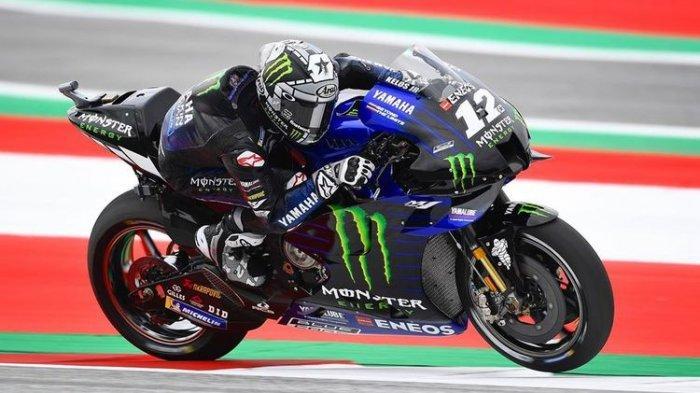 Vinales Start Pertama, Quartararo di Posisi ke Tiga MotoGP Austria Sore Nanti