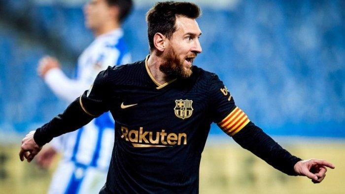 Real Sociedad vs Barcelona: Messi Cetak Rekor Baru, El Barca Pesta Gol Menang 1-6