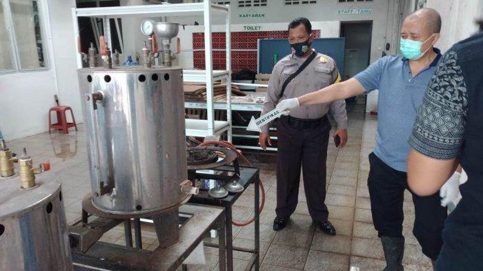 Mesin Boiler Pabrik Garmen di Banyumas Meledak, 2 Karyawan Terluka Kena Serpihan Kaca