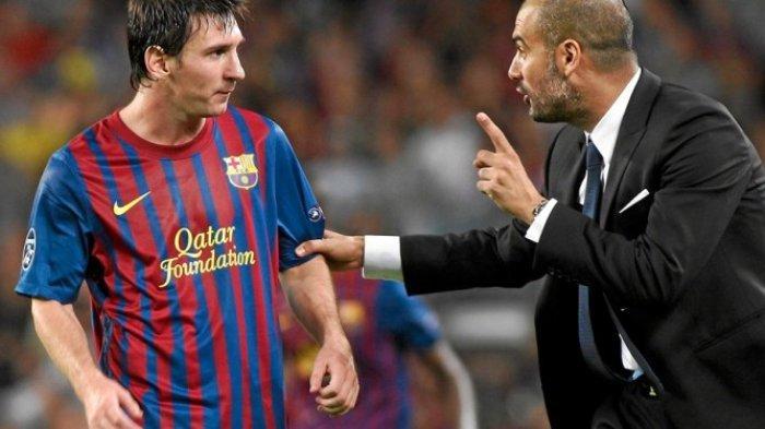 Messi Ngebet ke Manchester City, Respon Mengejutkan Pep Guardiola: Bertahan di Barcelona, Leo!