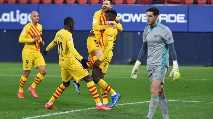 Osasuna vs Barcelona: Wonderkid Mahal Cetak Gol, El Barca Selisih 2 Poin dengan Pemuncak Klasmen