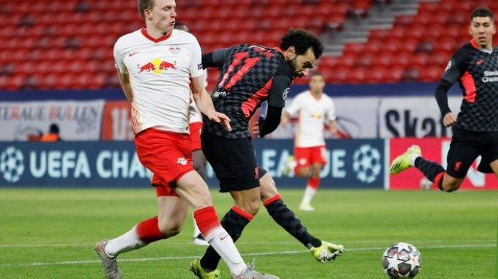 RB Leipzig vs Liverpool: Menang 2 Gol, The Reds Paling Rutin Clean Sheet di Liga Champions