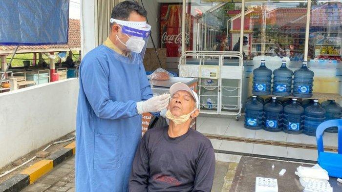 Operasi Yustisi di Pasar Karangjati Tegal, Temukan Sopir Travel dari Jakarta Positif Covid-19