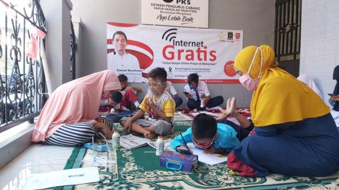 Banyak Tetangga Keluhkan Belajar Borosnya Kuota, Anggota Dewan di Tegal Sediakan Internet Gratis