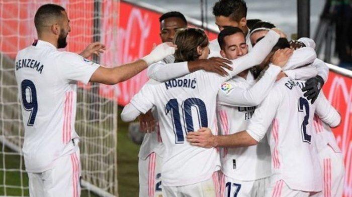 Jelang Real Madrid vs Eibar, Momentum Los Blancos Naik ke Peringkat Dua, Ini Skenarionya