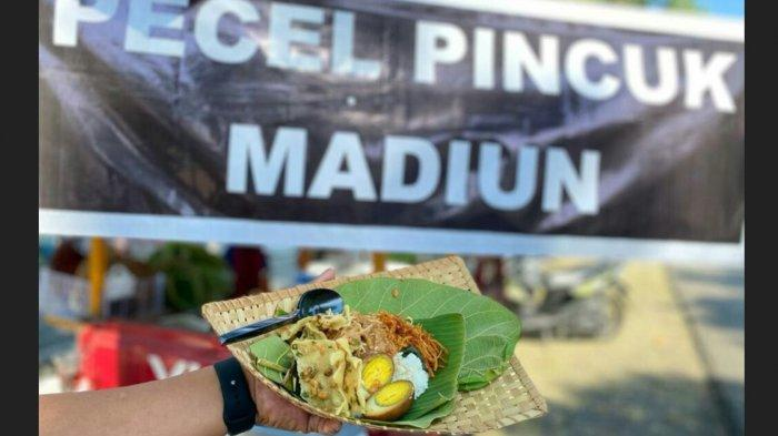 Ingin Nostalgia Masakan Khas Jawa Timuran di Slawi? Pecel Pincuk Madiun Bisa Ditemukan di Sini
