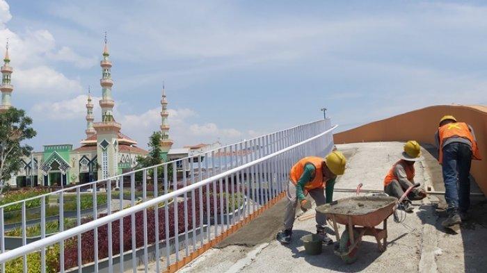Revitalisasi Tahap Dua Alun-alun Kota Tegal Dimulai