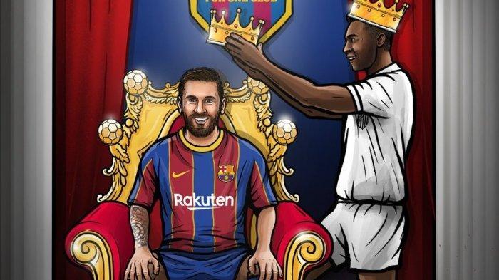 Messi Pecahkan Rekor Pele, 644 Botol Bir Dikirim ke 160 Kiper Korban La Pulga, Cassilas Dapat 17