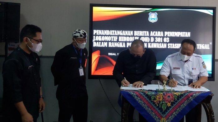 Dokumen Penempatan Sudah Ditandatangani, Kapan Lokomotif Antik Tiba di Taman Pancasila Tegal?