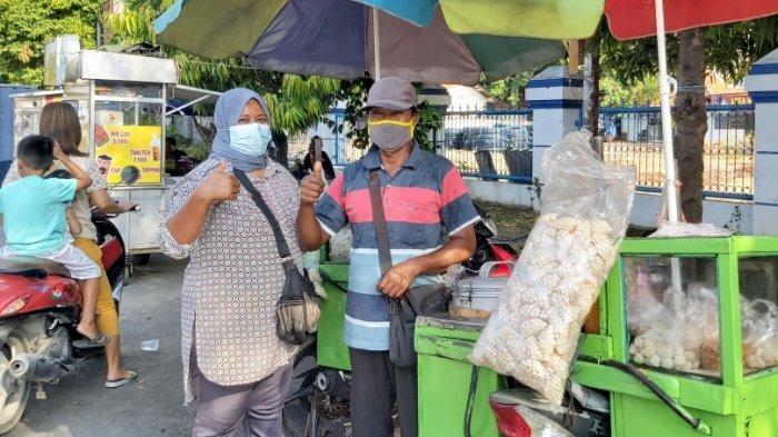 Kisah Suami Istri Penjual Pentol di Tegal, Tetap Bertahan saat Pandemi, Berhasil Kuliahkan Anak