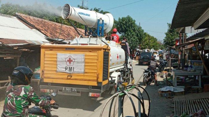 Kasus Covid-19 di Kabupaten Tegal Masih Bertambah, PMI Tambah Porsi Penyemprotan Disinfektan