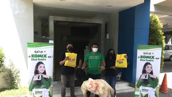 Komix Herbal Gaungkan Semangat Berqurban untuk Sesama di Tengah Pandemi Covid-19