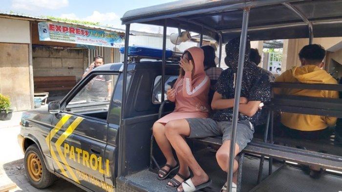 Asik Berduaan di Kamar Kos, Tiga Pasang Muda-mudi di Tegal Diangkut Polisi