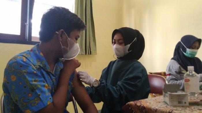Capaian Vaksinasi Covid-19 untuk Pelajar di Kabupaten Kendal Baru 17 Persen