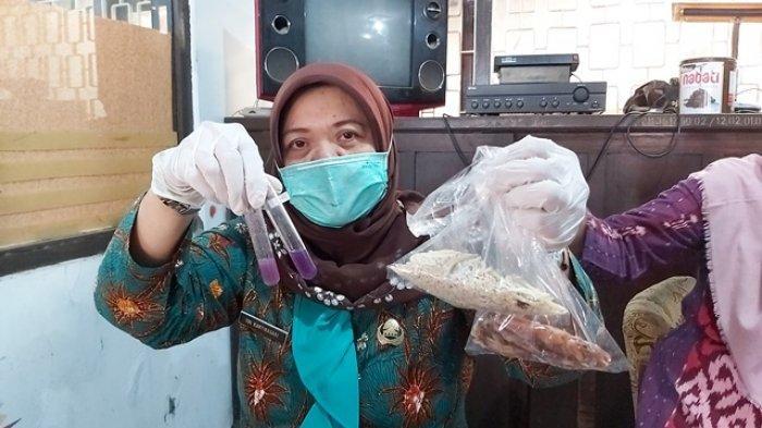 Dinkes Kota Tegal Temukan Teri Nasi dan Cumi Kering Mengandung Formalin di Pasar Pagi