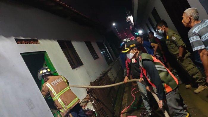 Ketiduran saat Masak Ketupat, Dapur Warga di Kota Tegal Terbakar