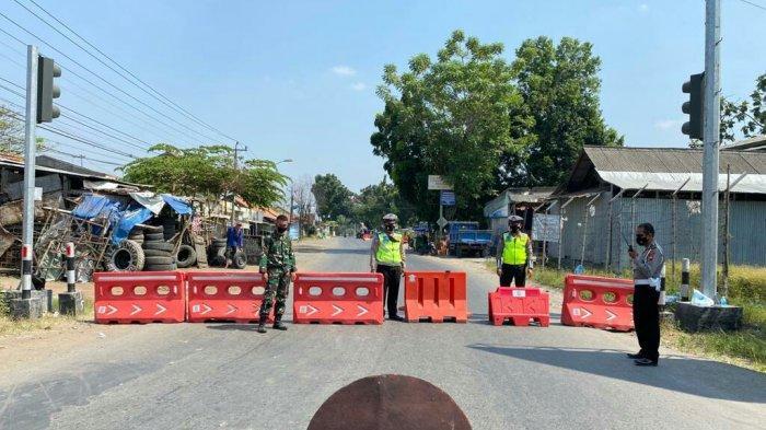 UPDATE PPKM Darurat di Kabupaten Tegal, Ini Daftar Jalan yang Ditutup