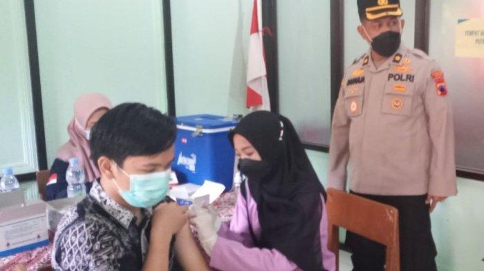 Polres Batang Genjot Vaksinasi untuk Pelajar, Kompol Raharja: Persiapan Segera Dimulainya PTM