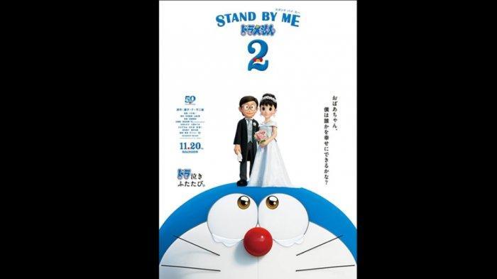 Doraemon Stand By Me 2 Segera Rilis, Posternya Tampilkan Nobita dan Suzuka Menikah
