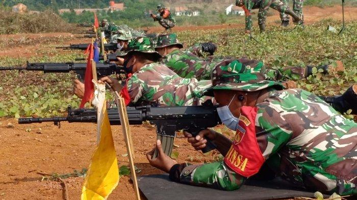 Prajurit Kodim 0710 Pekalongan Tingkatkan Keterampilan Menembak