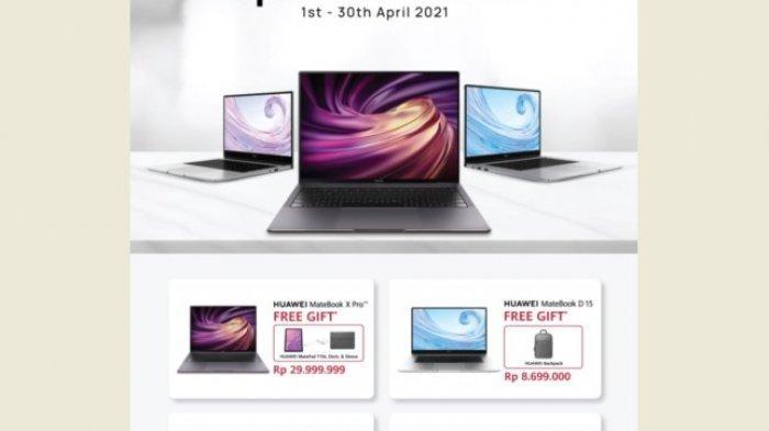 Berikut Daftar Harga Produk Huawei dan Promonya di Bulan April 2021
