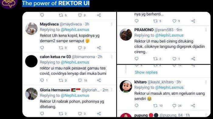 Ari Kuncoro Langgar Aturan, Larangan Rektor UI Rangkap Jabatan Direvisi, Tranding di Twitter
