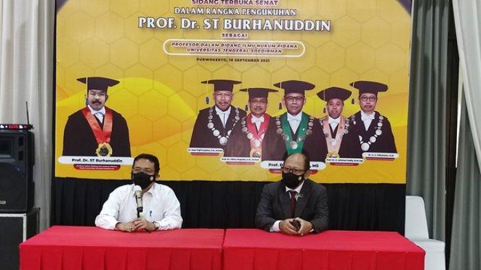 Ini Alasah Unsoed Purwokerto Beri Gelar Profesor ke Jaksa Agung ST Burhanuddin