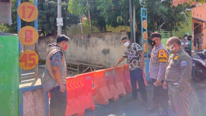 Satu RT di Tegal Dilockdown, Buntut 18 Warga Terkonfirmasi Covid-19, Camat: Zona Merah